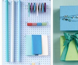 Tip Tuesday: Gift Wrapping Station